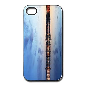 Exotic Thin Fit City Lake Night Iphone 4s Case