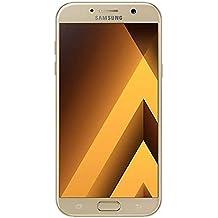 Samsung Galaxy A7 (2017) Factory Unlocked SM-A720F/DS 32GB 3GB Ram Dual Sim 4G LTE USA Caribbean & Latin International Version (Gold Sand)