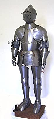 NauticalMart Medieval Wearable Knight Crusader Full Suit of Armor