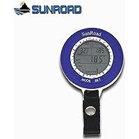 Sunroad SR204 Mini LCD デジタル 高度計 気圧計 温度計 マルチ ファンクション 釣り/登山/フィッシング専用 防水【並行輸入】