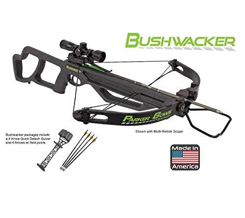 Parker Bushwacker Crossbow Pkg, 4x MR Scope (Parker Package Crossbow)