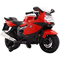 Toy House Superbike 12V Rechargeable Battery Operated Ride-On for Kids (3 to 6YRS), Red