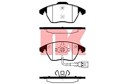Scheibenbremse DELPHI LP1837 Bremsbelagsatz