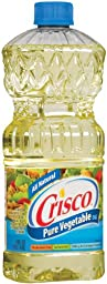 Crisco Pure Vegetable Oil, 48 Ounce (Pack of 9)