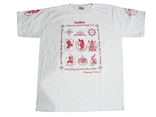 T-shirt Men's Sak Yan Ancient Tattoo Size L