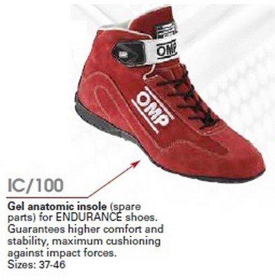 OMP OMPIC//10039 Gel Insole para Endurance Zapatillas Marr/ón Talla 39
