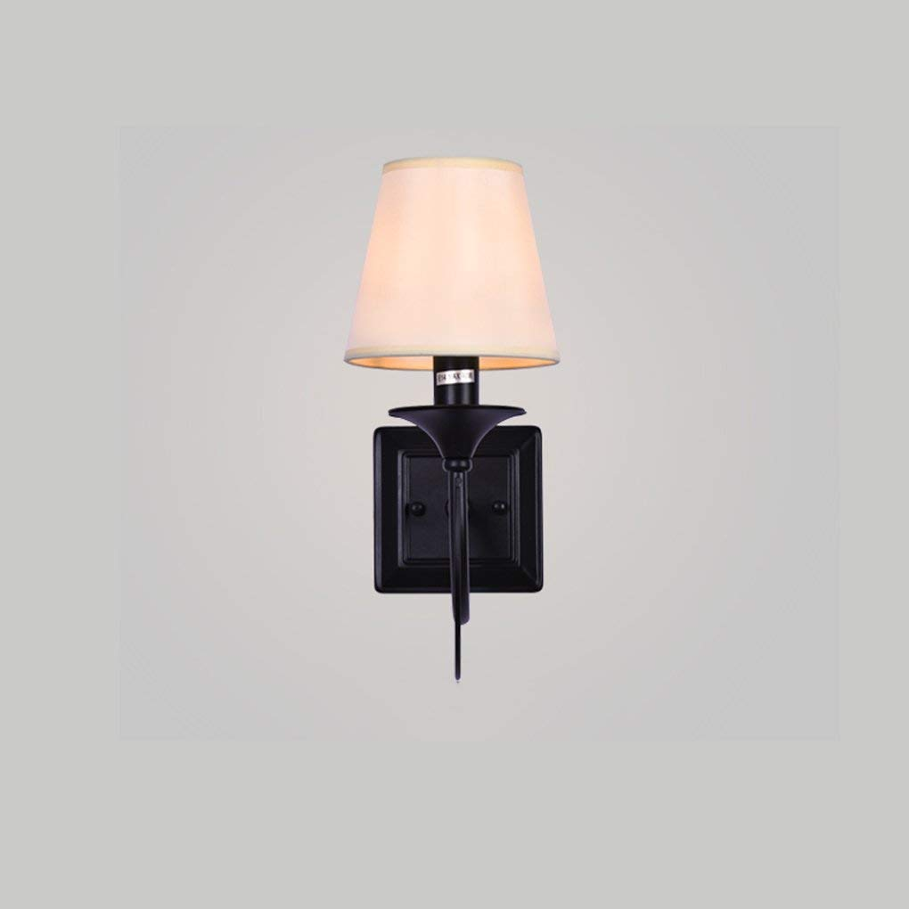 Hai Ying  Wohnzimmer Gang Schlafzimmer Nachttischlampe Amerikanischen minimalistischen Stil Wandleuchte E27