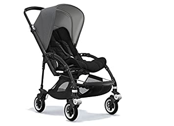 Bugaboo Bee5 Stroller Bundle with Grey Melange Canopy Black Base/Seat/Grips and  sc 1 st  Amazon.com & Amazon.com : Bugaboo Bee5 Stroller Bundle with Grey Melange Canopy ...