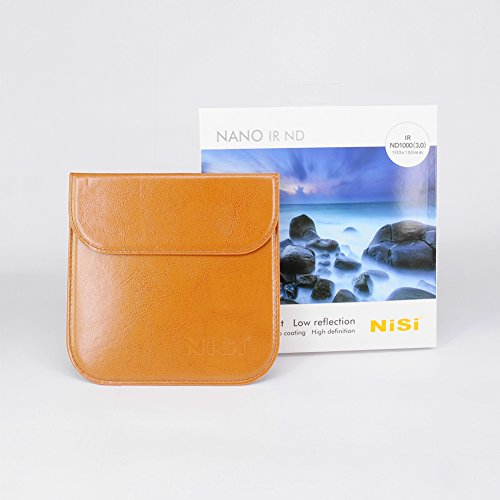 NiSi IR ND1000(3.0) 10-Stop 100 x 100mm Neutral Density Filter, Black (IR ND1000 3.0 100x100)