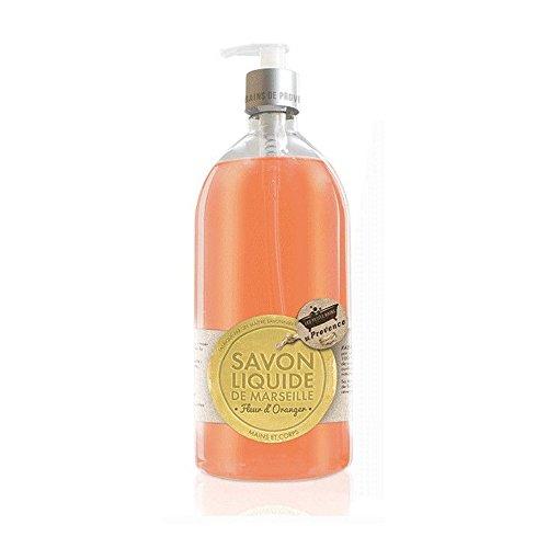 Les Petits Bains de Provence Savon Fleur d'oranger 1L 3760169126467