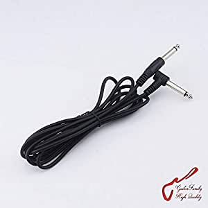 1 piece cheap electric guitar bass amp shielded lead cable 2 5m length plug. Black Bedroom Furniture Sets. Home Design Ideas