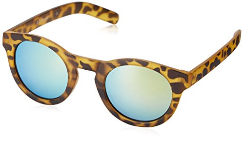 A.J. Morgan Apollo 53676 Round Sunglasses, Matte Tortoise/Mirror, 50 mm Apollo Matte