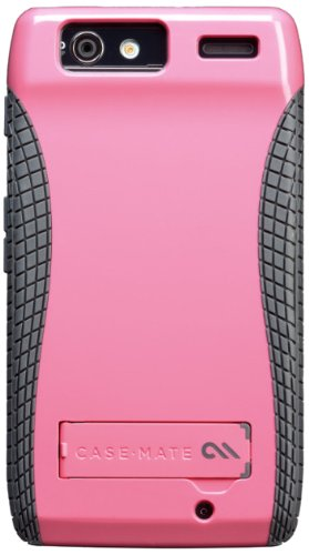 - Case-Mate CM018197 POP Case with Stand for Motorola Droid RAZR XT912 1 pack-Case-Retail Packaging-Pink/Cool Grey