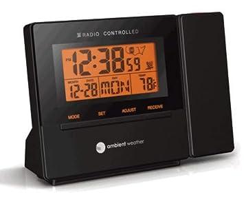 Amazon.com: Ambient RC-8427reloj radio despertador ...