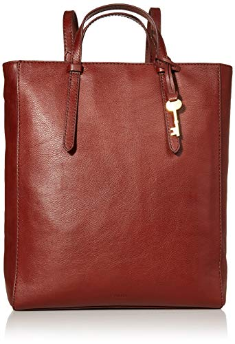 Fossil Women's Camilla Leather Convertible Backpack Purse Handbag