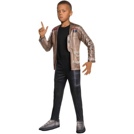[Star Wars Episode 7 Finn Child Dress Up / Role Play Costume One Size S (4-6)] (Finn And Fiona Costumes)