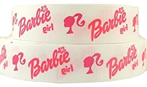 THE RIBBON BOWTIQUE - Cinta (diseño de Barbie, 1 metro x ...