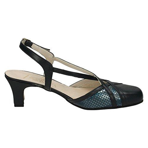 Snake Narrow Nil Blue Ladies Formal Fitting Bandana Navy Malasia Shoes Simile qtznxtpB