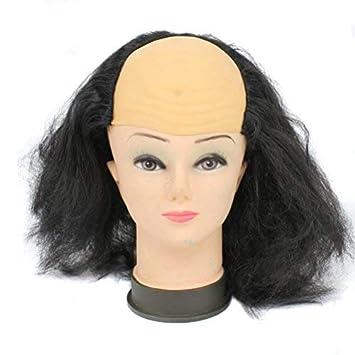 Amazon.com: cosin Bald Head Pelucas Para – Disfraz para ...