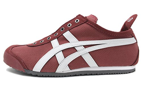 Onitsuka Tiger by Asics Unisex Mexico 66 Slip-On Russet Brown/Glacier Grey Sneaker