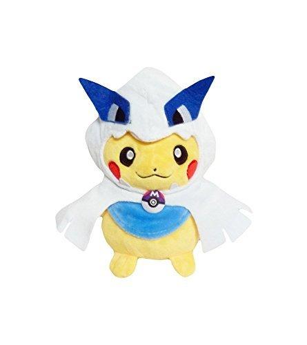 Plush Mascot Doll (Pokemon: 7-inch Mascot Pikachu Plush Doll - Lugia)