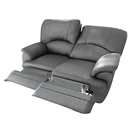 Divano 2 posti Relax 2 recliner motorizzati elettrici totali in ...