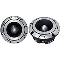 2) NEW Lanzar OPTIBT38 Optidrive 800W Heavy Duty Aluminum Super Bullet Tweeters