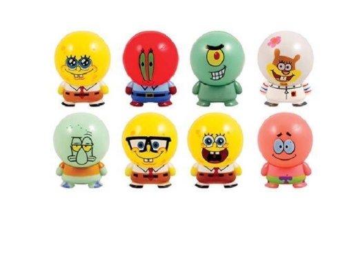 NEW!! Spongebob Squarepants Buildable Figures Set of 8 Collectibles Figurines