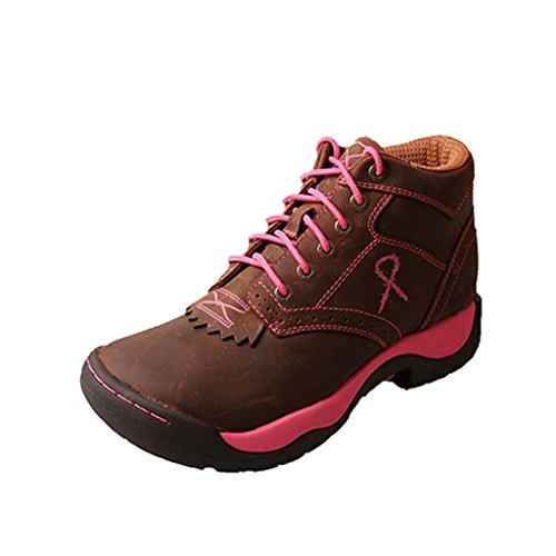 Twist (Lace Up Pink Boots)