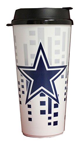 The Memory Company NFL Dallas Cowboys 32oz Single Wall Travel Mug