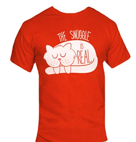 snuggle-is-real-t-shirt-funny-humorous-novelty-shirt-heather-navy-medium