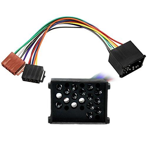 Adapter-Universe® 1080  Câble adaptateur DIN ISO pour autoradio de BMW série 3, 5, Z3, E34 E36 E46 E39