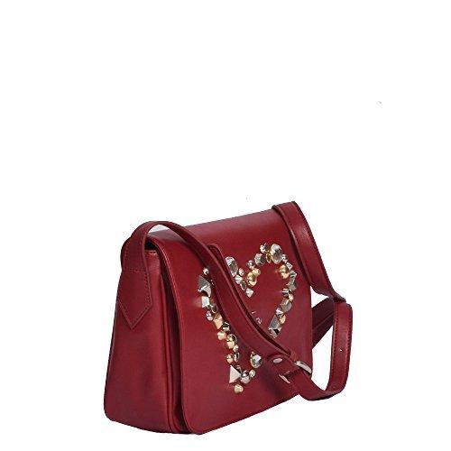 Braccialini , Sac pour femme à porter à l'épaule rouge bordeaux