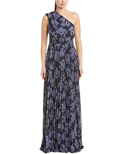 Kay Unger Womens Gown, 16, Blue