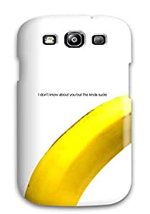 Fashion Tpu Case For Galaxy S3- Banana Funny Defender Case Cover