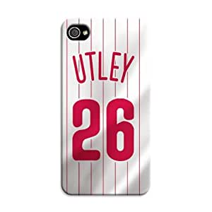 US MLB Philadelphia Phillies Protection Phone Case Cover Shell for Iphone 4/4S