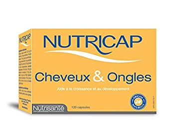 Nutricap - Hair & Nails - 120 Capsules