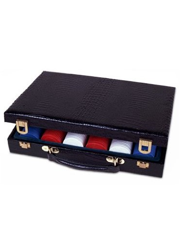 Sunnywood 3342 Vinyl 300 Piece Poker Chip Case by Sunnywood