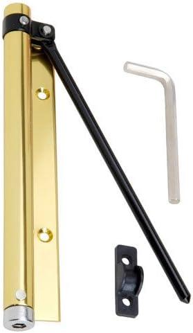 Wolfpack 3091450 Muelle Puerta Aluminio Anodizado Dorado (Blister 1 Pieza)