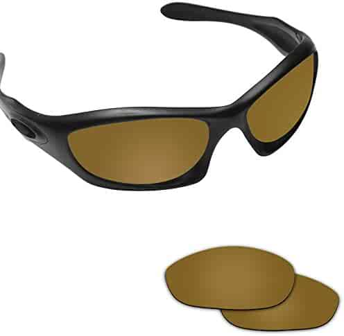 e743a7aaf2 Fiskr Anti-saltwater Polarized Replacement Lenses for Oakley Monster Dog  Sunglasses