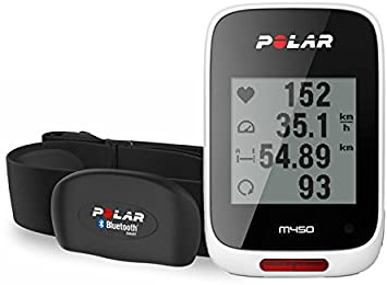 Polar M450 HRM Pulsómetro con GPS, Unisex, Blanco: Amazon.es ...