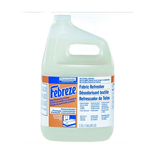 Proctor & Gamble Febreze Deep Penetrating Fabric Refresher, 5X Concentrate, Gallons, 2 Per Case