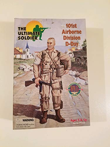 21st Century Toys Ultimate Soldier 101ST AIRBORNE DIVISION D-DAY Action Figure 21st Century Toys Ultimate Soldier