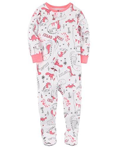 cfecd2325a6c Galleon - Carter s Little Girls  1 Piece Snug Fit Cotton Pajamas ...