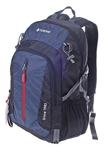 Schultasche Schulranzen Schulrucksack Multifunktionsrucksack sehr hohe Qualität für Uni, Schule, Reise, mit gepolsterte Laptop-Einlage, Abmessungen: 32°x°28°x°5°cm, Schultasche Arbeitstasche Schulranz Blau