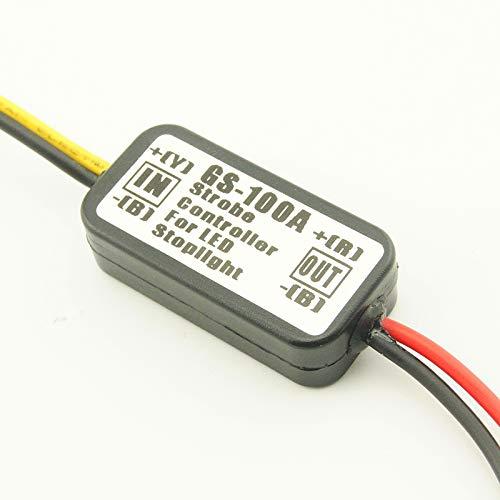 TOOGOO Gs-100A Auto Led Brems Brems Leuchte Strobe Flash Flash Controller Box Modul
