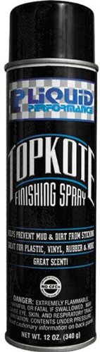Liquid Performance Racing Topkote Finishing Spray - 12oz. 0555 by Liquid Performance Racing