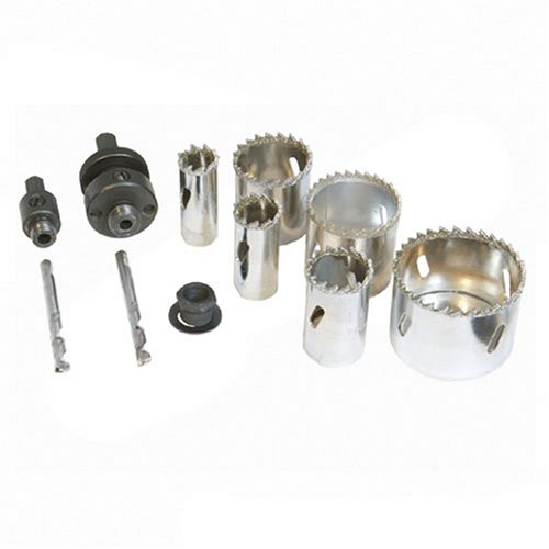 - Silverline Diamond Grit Holesaw Kit 11pce 19 - 57mm Dia