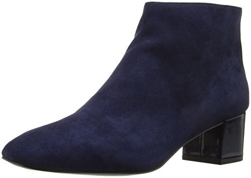 Nine West Womens Anna Ankle Bootie Navy