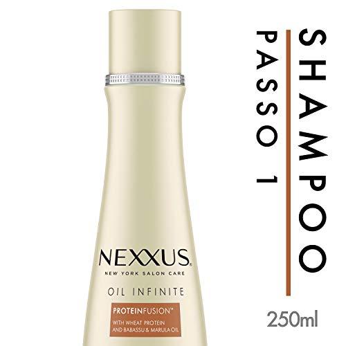 Shampoo Protein Fusion Nexxus Oil Infinite Frasco 250Ml, Nexxus
